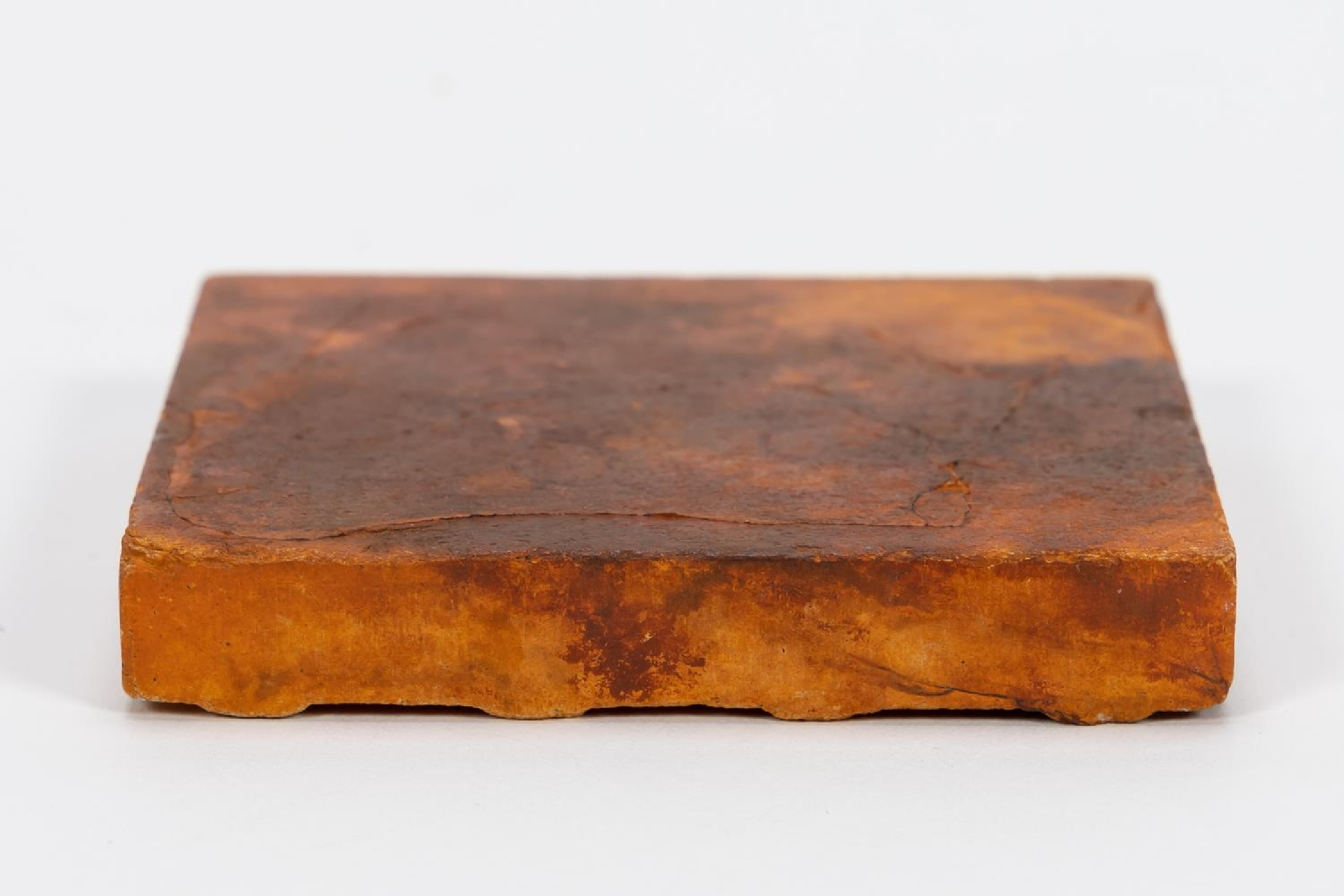 RMS CARPATHIA, SALVAGED SMALL RED FLOOR TILE - Image 5 of 6