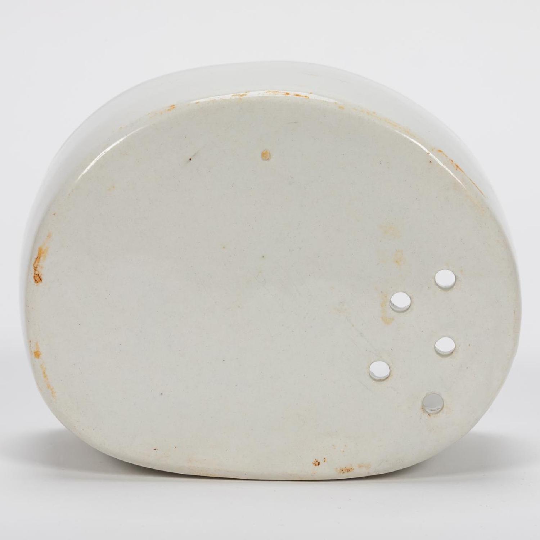 RMS CARPATHIA, SALVAGED WHITE PORCELAIN SOAP DISH - Image 7 of 8
