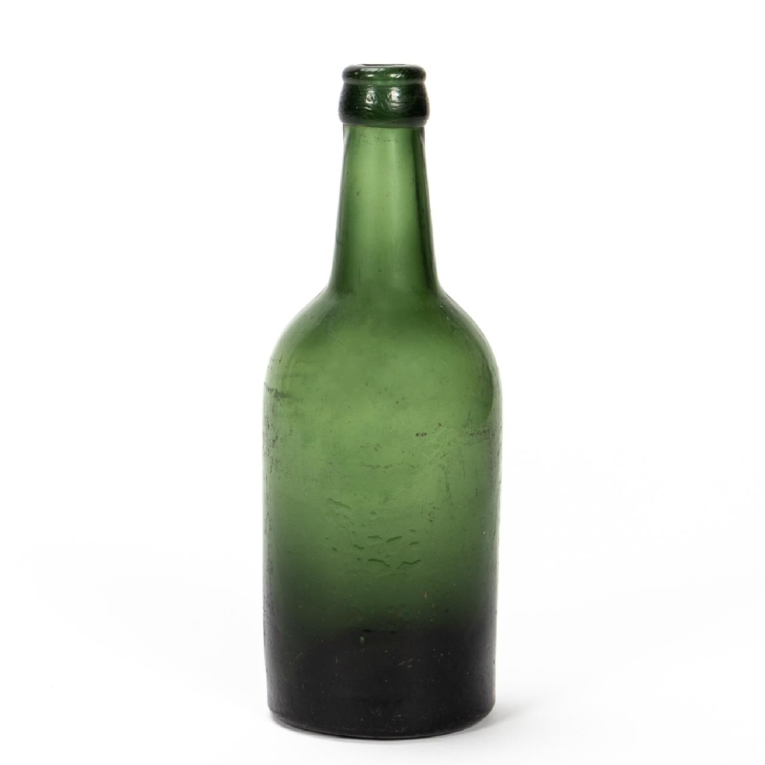 RMS CARPATHIA, SALVAGED GREEN GLASS BEER BOTTLE - Image 3 of 5