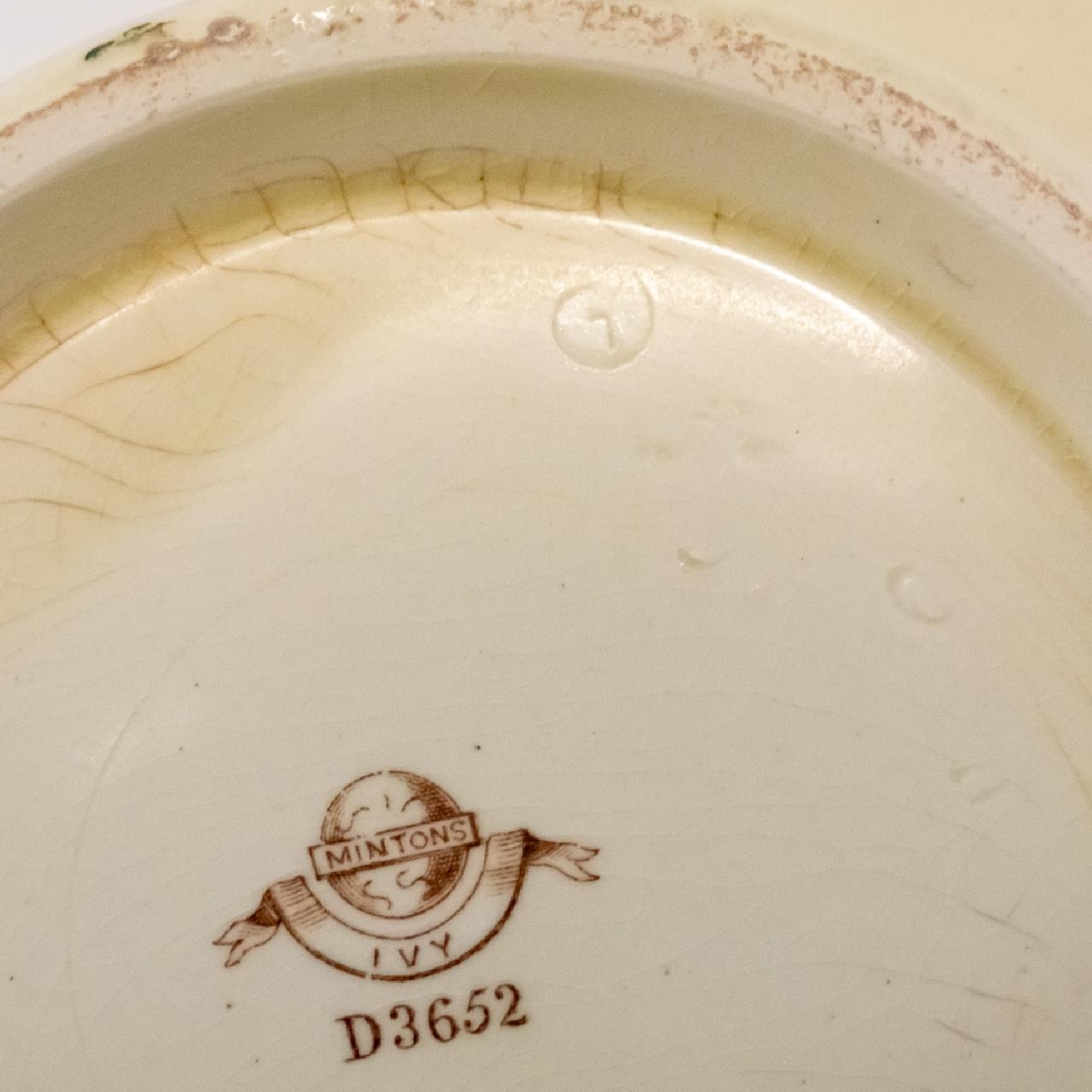 RMS CARPATHIA, SALVAGED PARTIAL IVY CHAMBER POT - Image 6 of 7