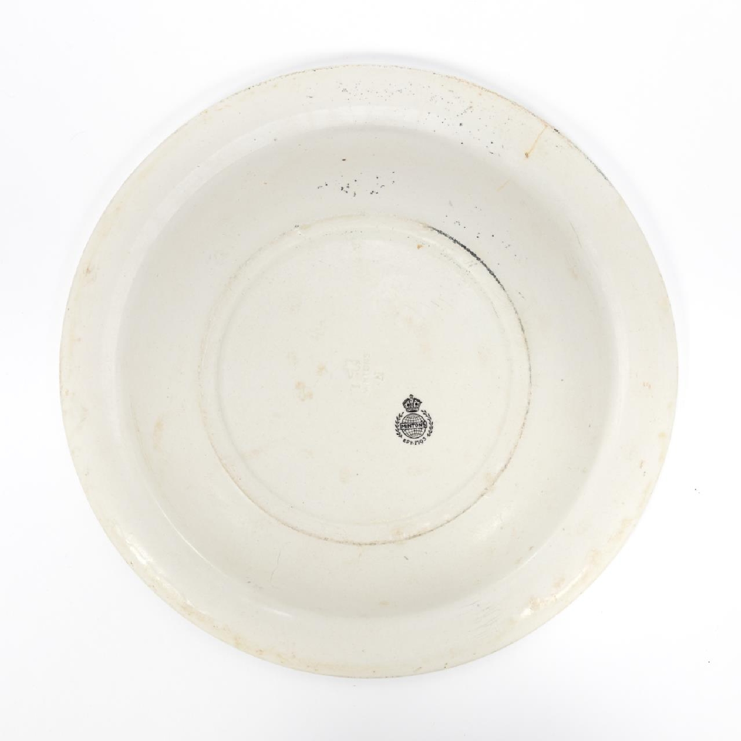 RMS CARPATHIA, SALVAGED THIRD CLASS BOWL WITH LOGO - Image 3 of 5