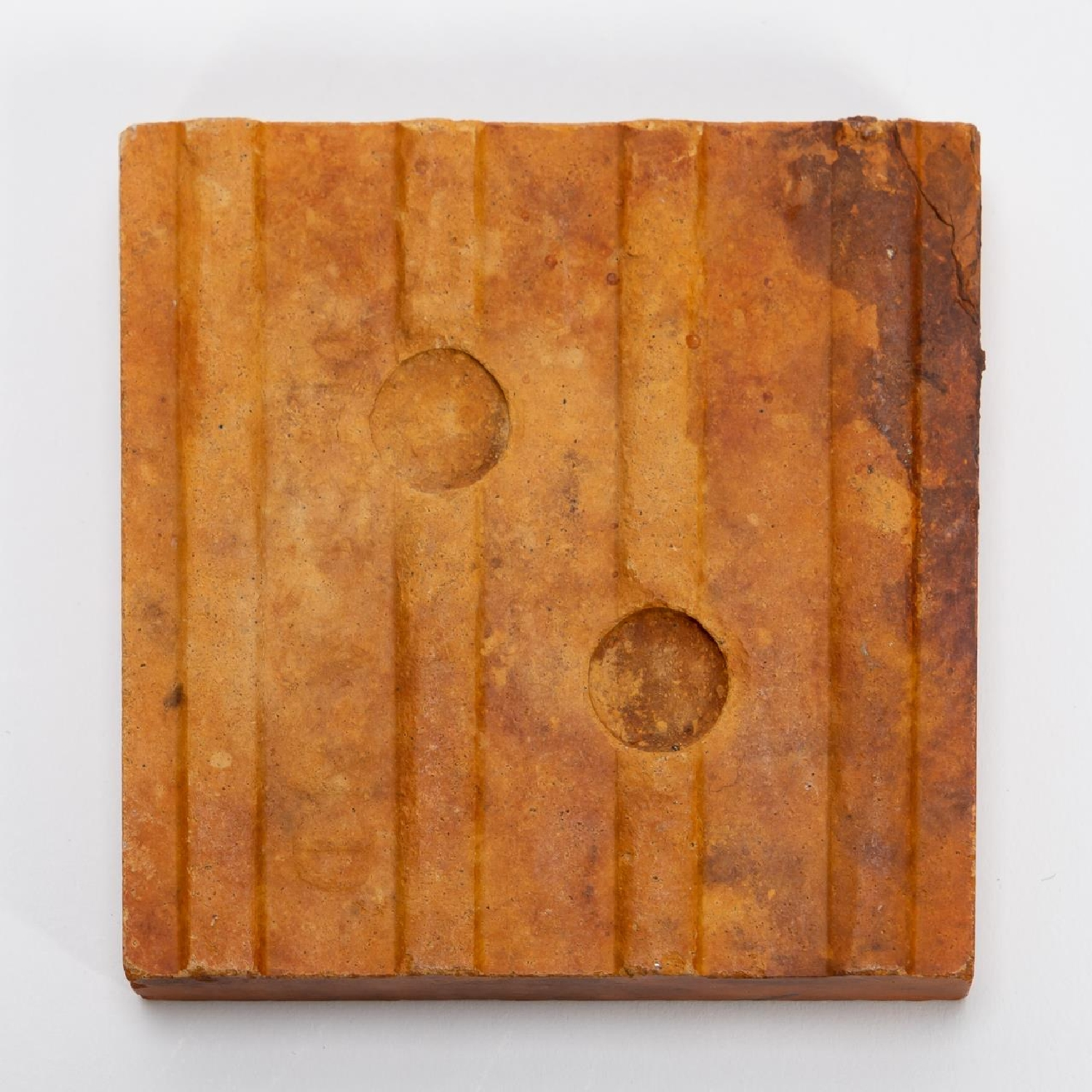 RMS CARPATHIA, SALVAGED SMALL RED FLOOR TILE - Image 2 of 6