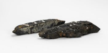 RMS CARPATHIA, SALVAGED COAL IN TWO PIECES