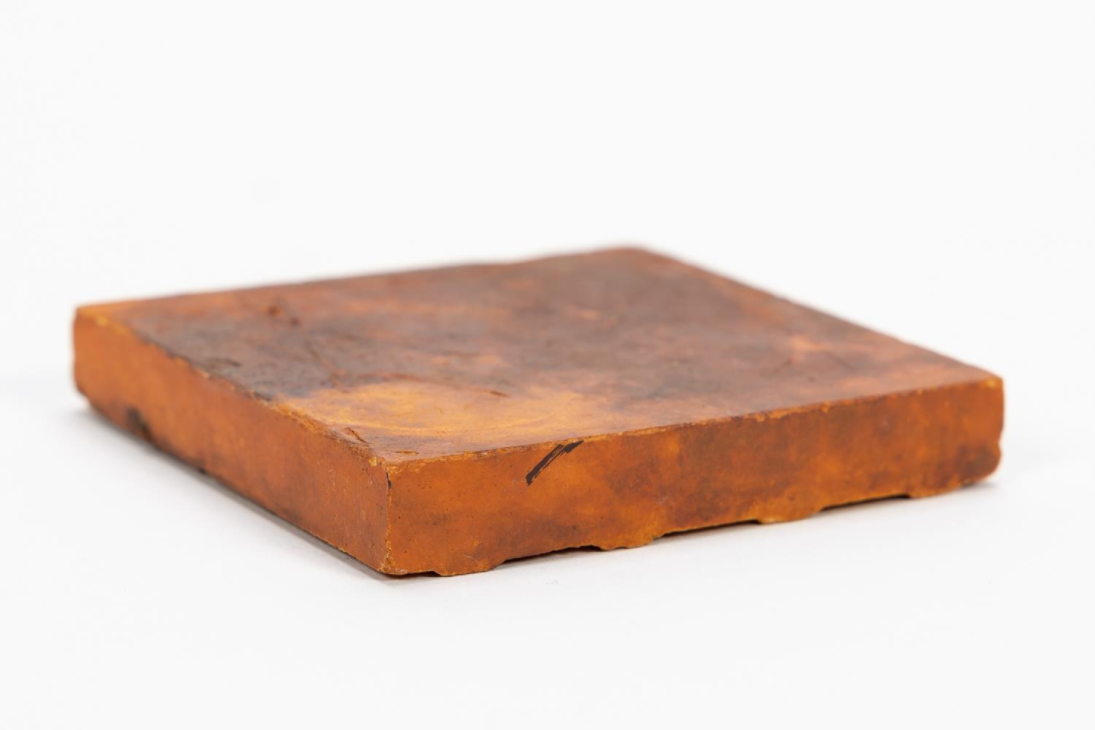 RMS CARPATHIA, SALVAGED SMALL RED FLOOR TILE - Image 3 of 6