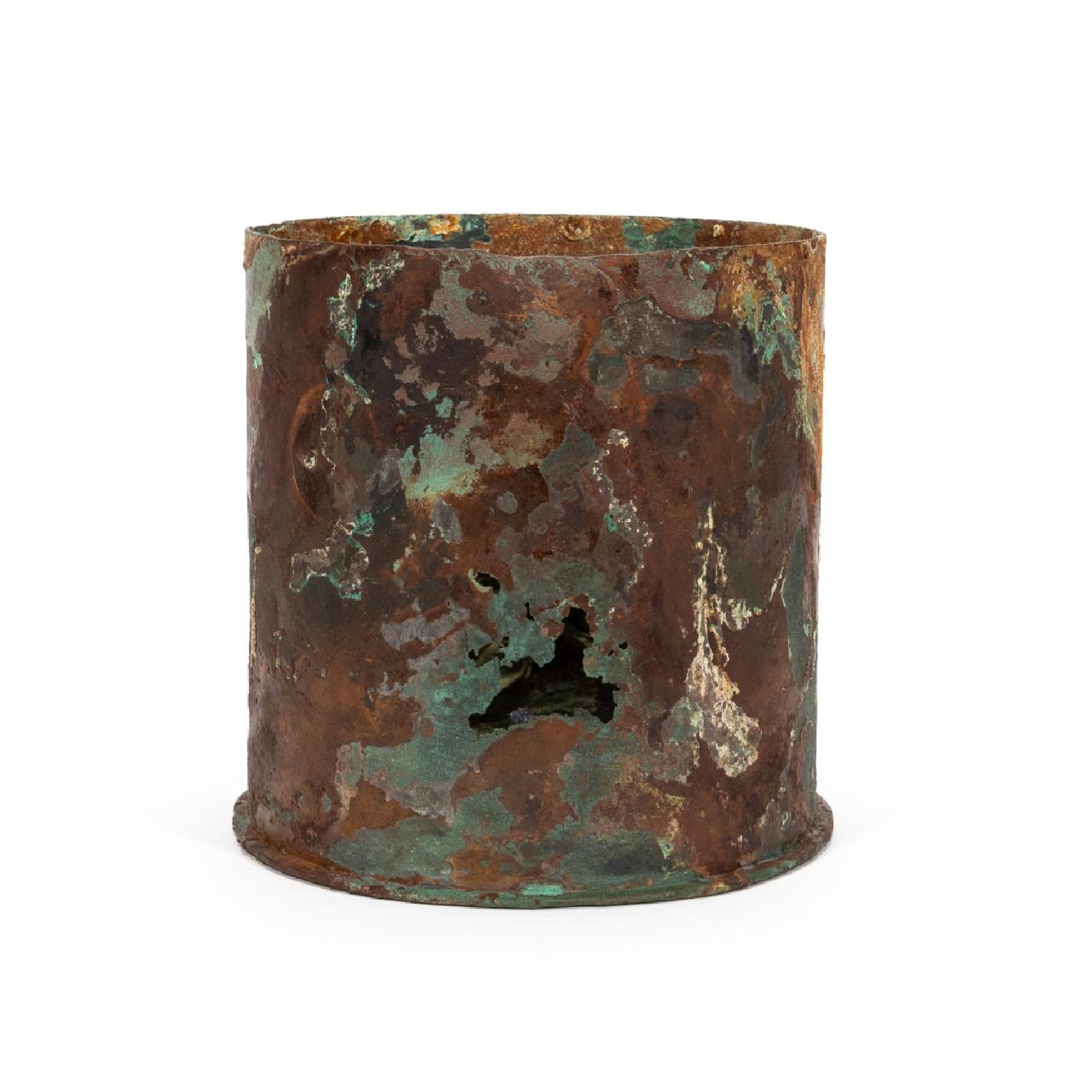 RMS CARPATHIA, SALVAGED ARTILLERY SHELL CASING - Image 3 of 6