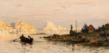 Walter Moras – Norwegische Küstenlandschaft (Lofoten). o. J.