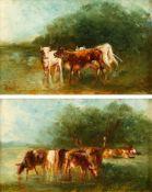 Paul Friedrich Meyerheim – Zwei Miniaturen. o. J.