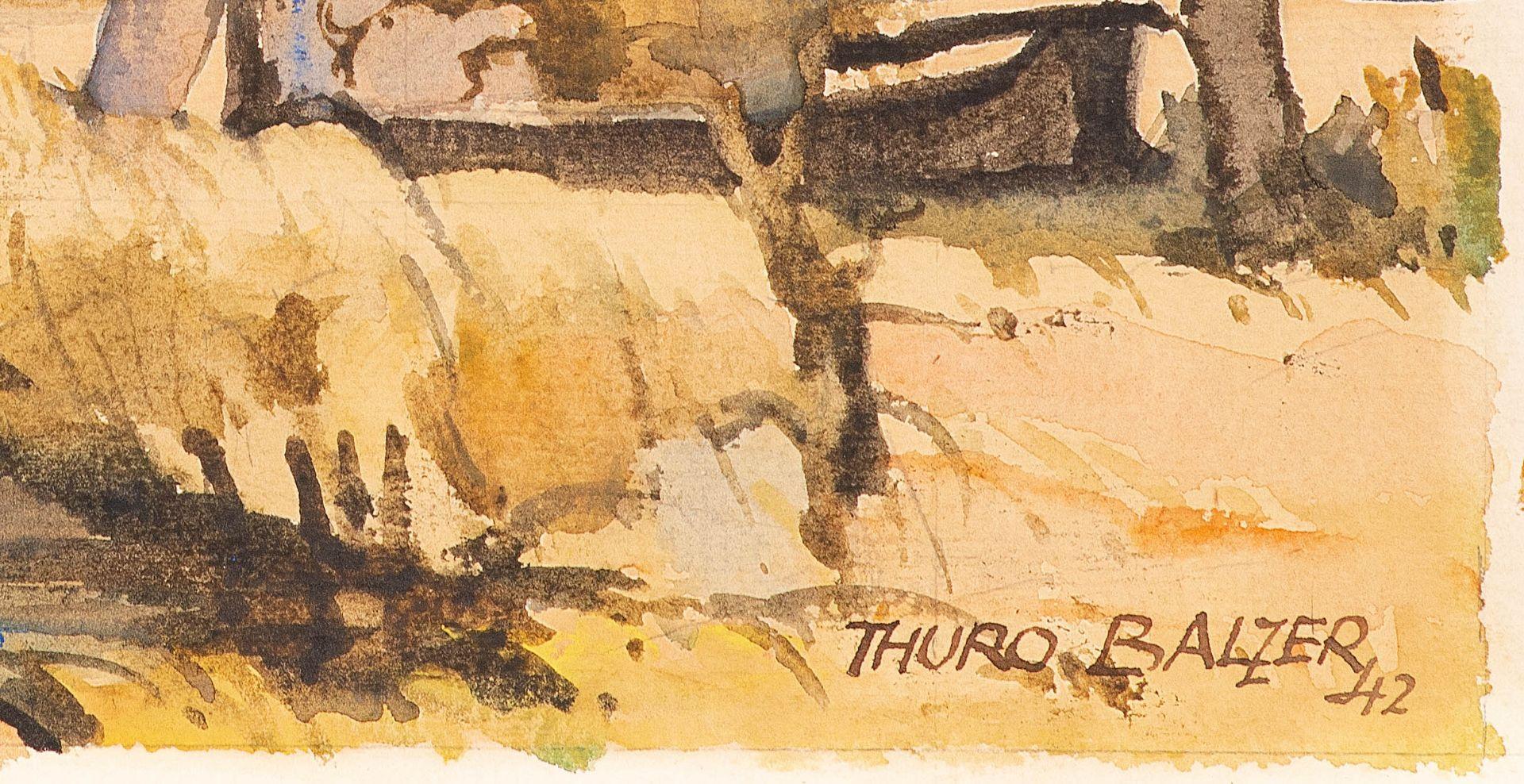 Thuro Balzer – Nehrungshafen. 1942. - Image 2 of 2