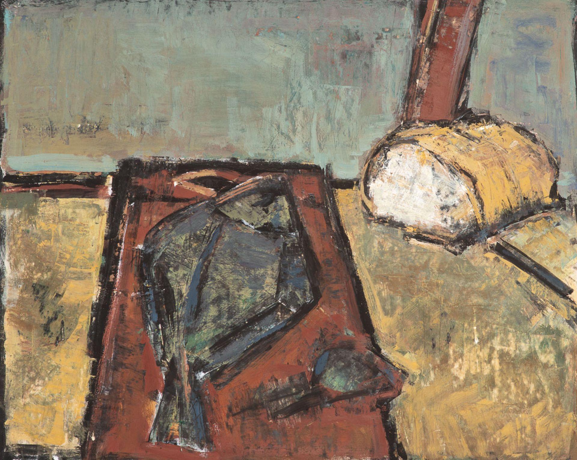 Klaus–Dieter Gerlach – Brot und Flunder. 1984.