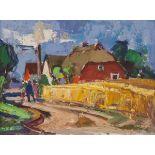 Tom Beyer – Weg aus dem Dorf. o. J.