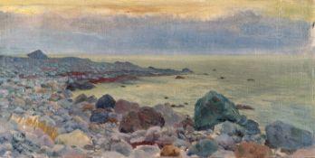 Oskar Kruse–Lietzenburg – Steinstrand. Lohme. 1916.