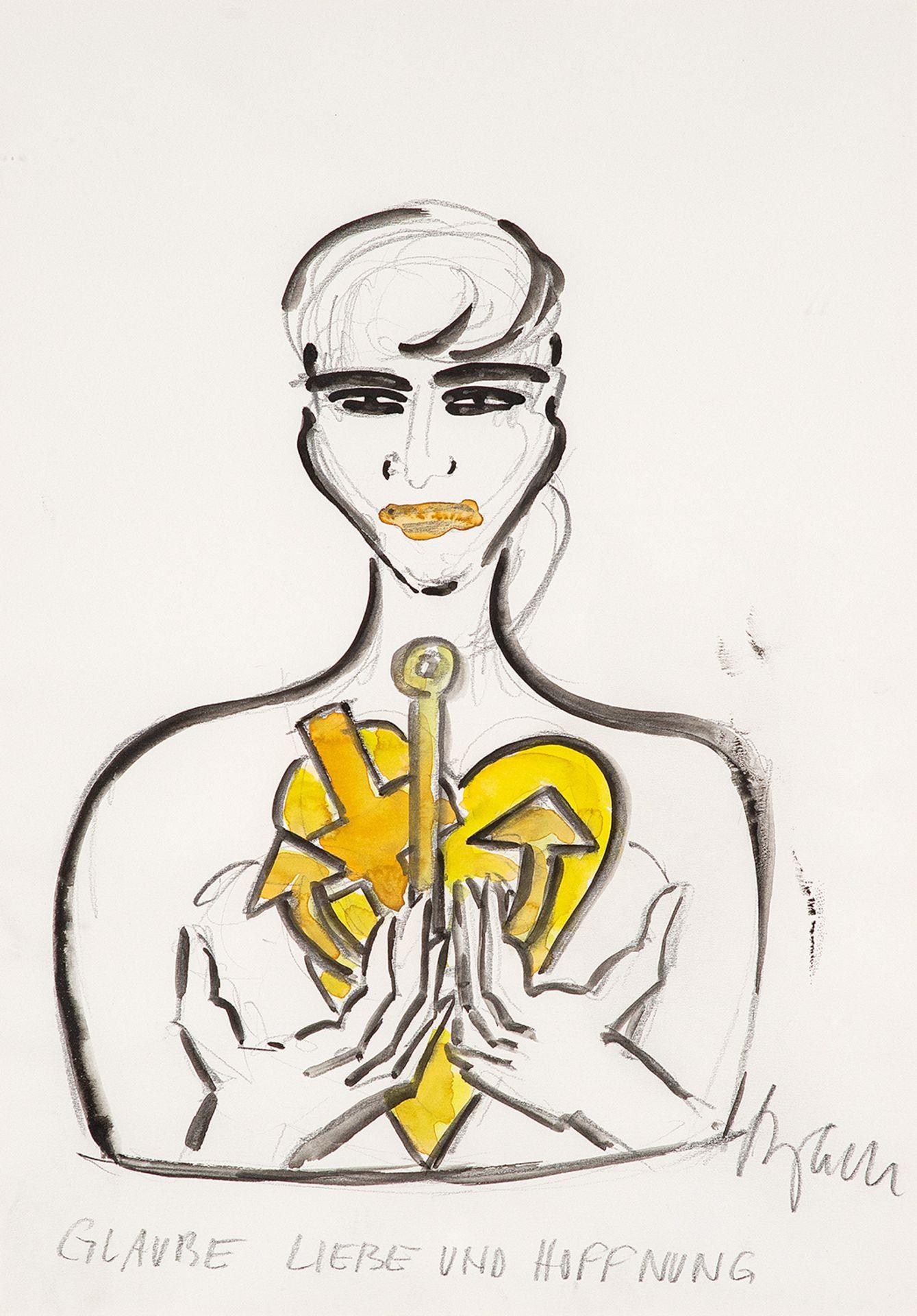 Elvira Bach – Glaube. Liebe und Hoffnung. o. J.
