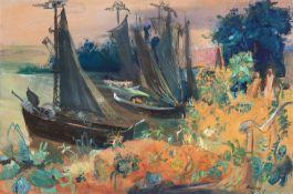 Paul Kuhfuss – Bootshafen.