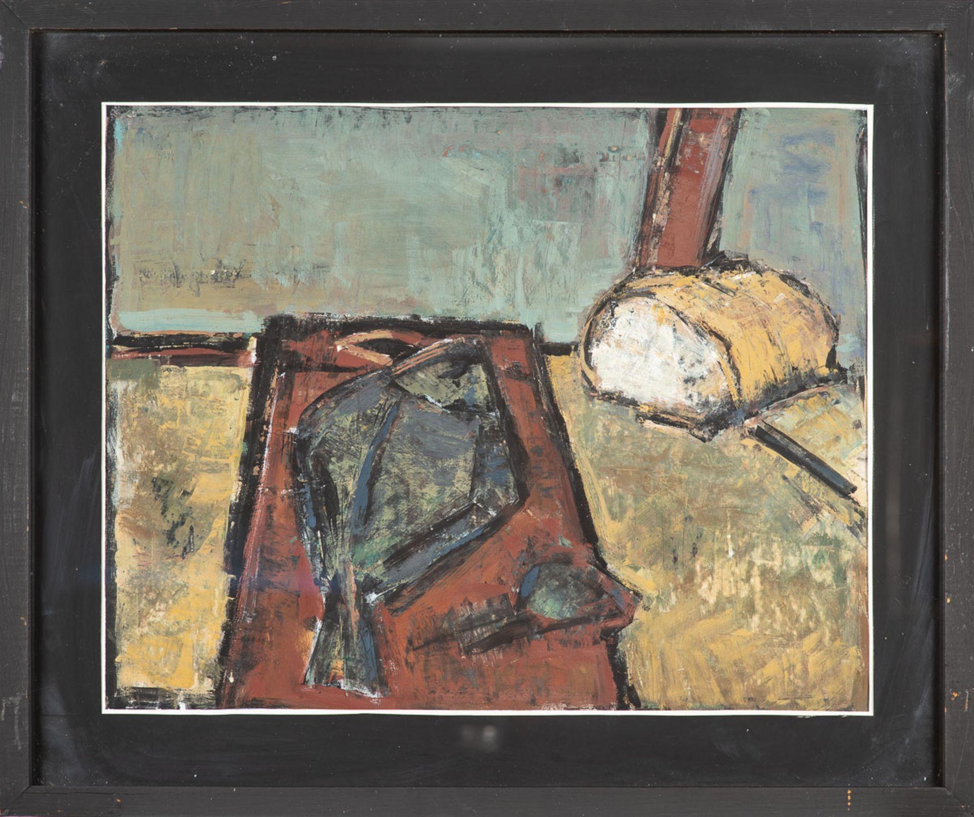 Klaus–Dieter Gerlach – Brot und Flunder. 1984. - Image 2 of 3