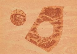 """Hermann Glöckner – o. T. (Variante zur Folge """"10 Handdrucke""""). um 1970."""