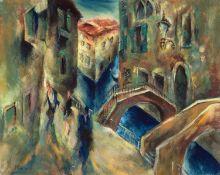 Paul Kuhfuss – Brücken in Venedig.