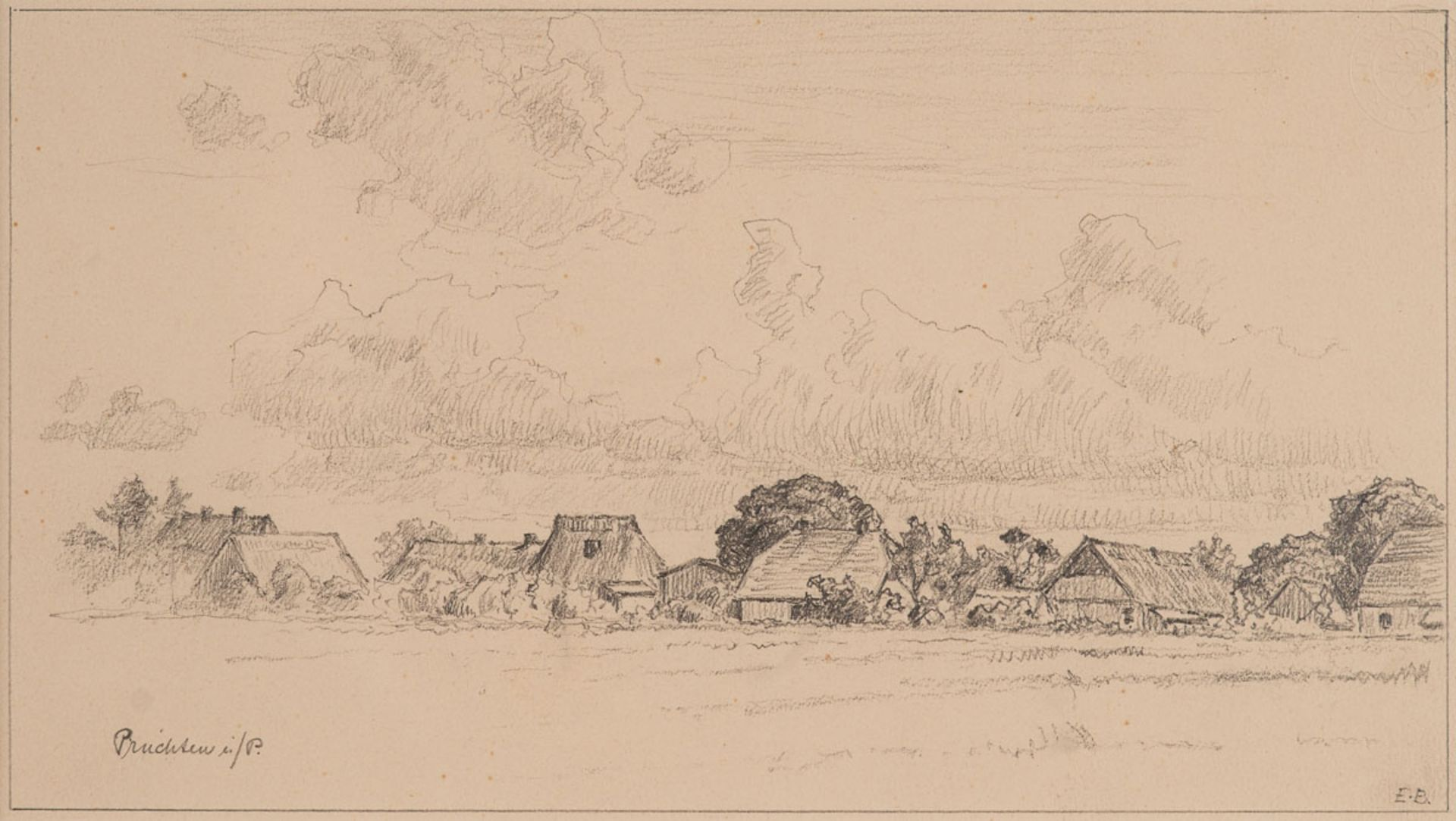 Elisabeth Büchsel – Pruchten in Pommern. o. J.