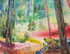 Edmund Kesting – Waldlichtung. 1921.