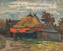 Kurt Haase-Jastrow – Fischerhaus in Ahrenshoop.