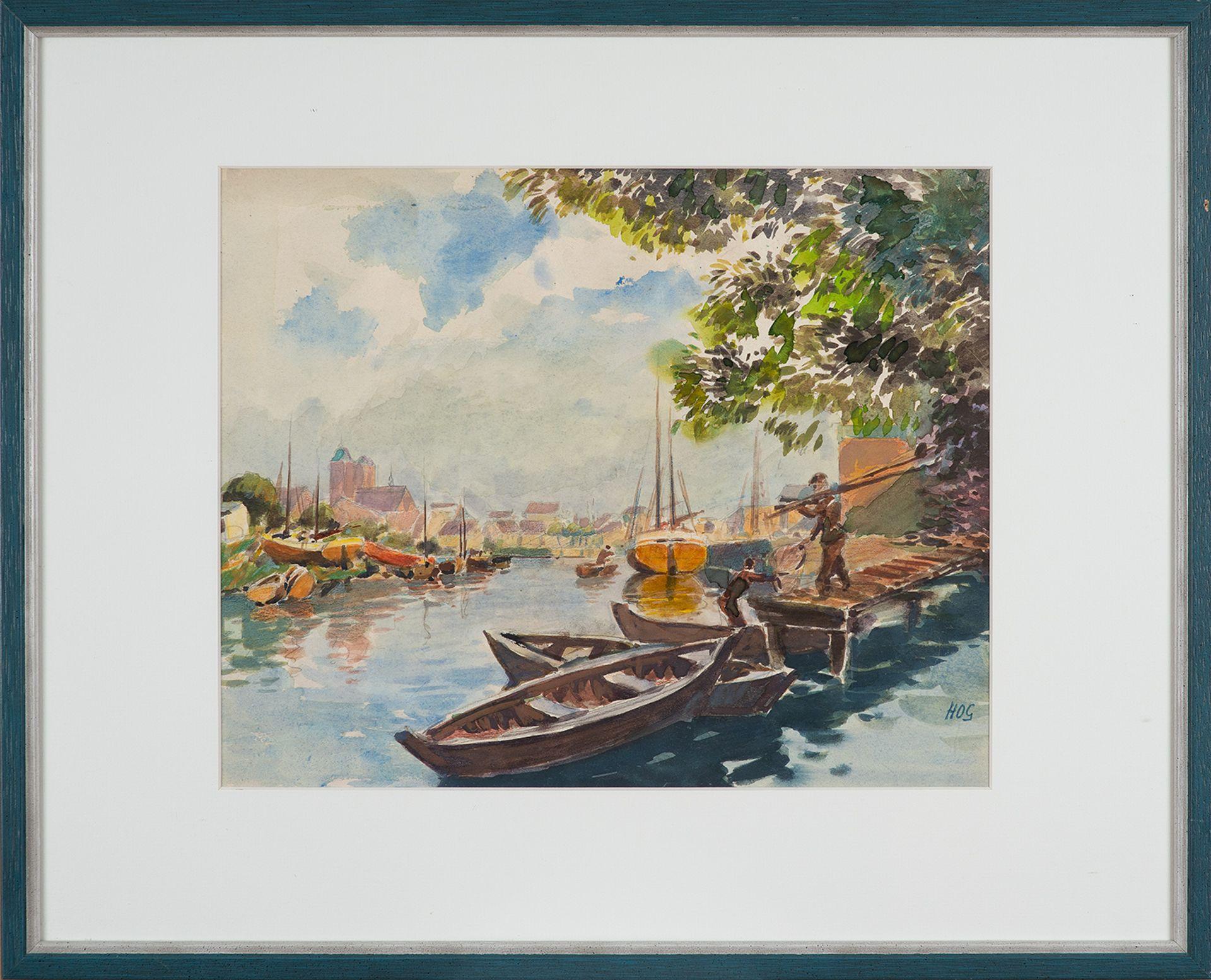 Hans–Otto Gehrcke – Stralsund. 1960er Jahre. - Image 2 of 4