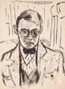 Wilhelm Robert Huth – Selbstporträt in Paris.
