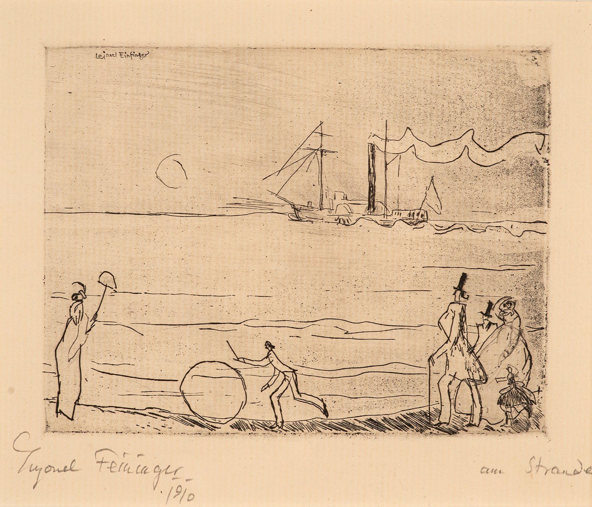 Lyonel Feininger – Am Strande.