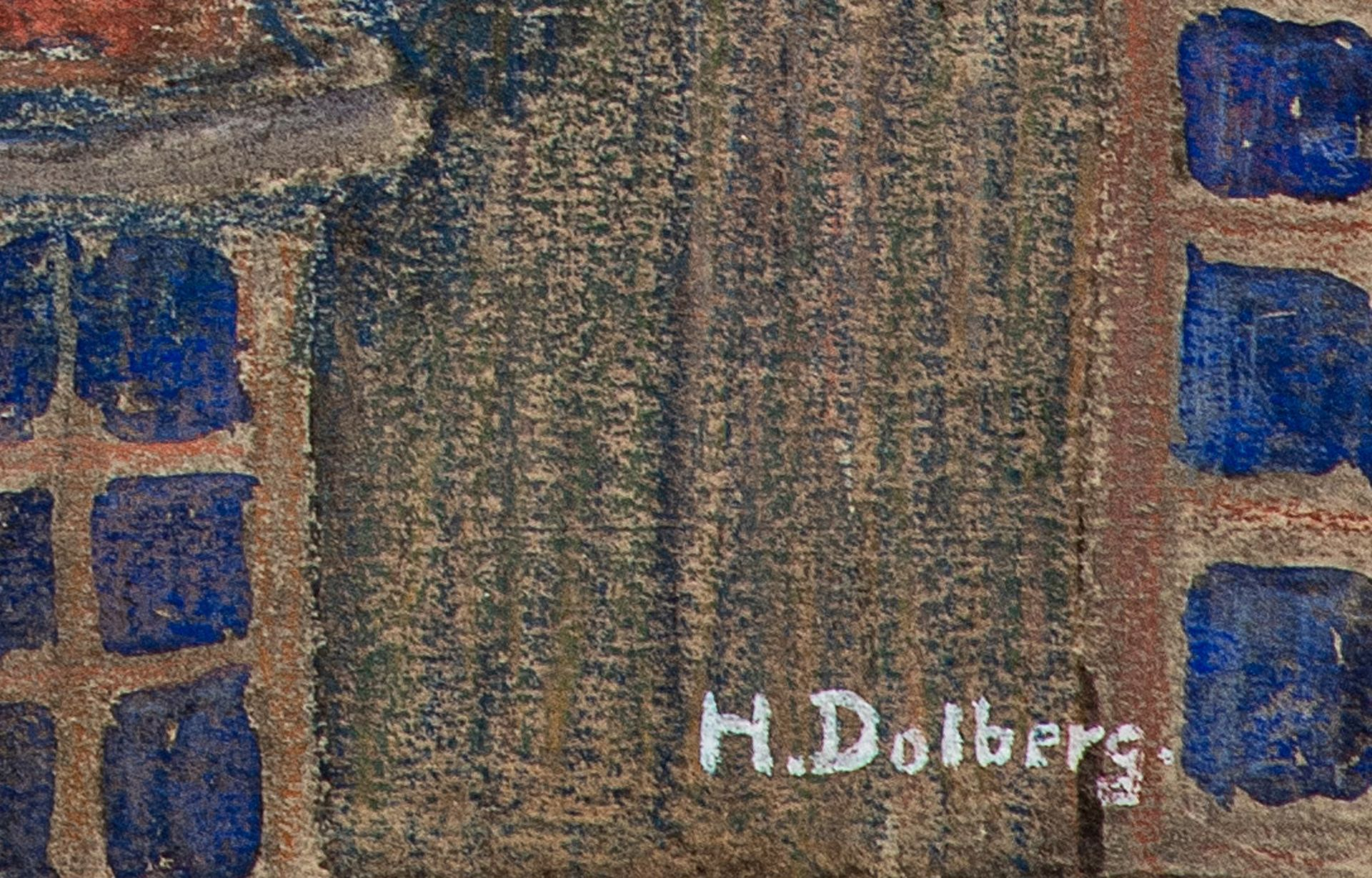 Helene Dolberg – Jakobikirche Rostock. o. J. - Image 2 of 2