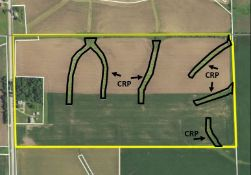 80 acres with Home