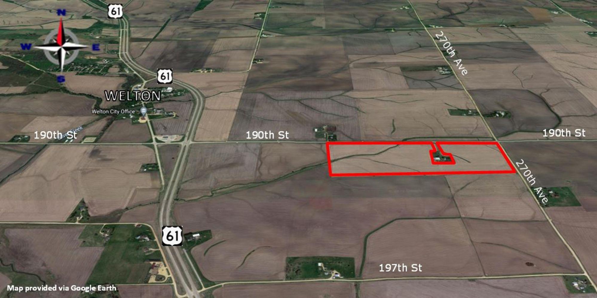 Clinton County 91 A Farmland Auction