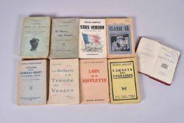 9 volumes. Avec Charles Péguy de la Lorraine à la Marne, Jean le Gouin fusilier-marin de Dixmude, cl