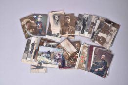 France. Le grand état-major, Joffre, Foch, divers généraux. (67 cartes) dont ? en couleurs et ? en n