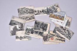 France. Artillerie et télégraphistes. (28 cartes) 5  en couleurs et 23 en noir.