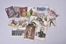 Les Alliés. Serbie, Italie, Russie, Roumanie. Les monarques, uniformes, défilés, combats 24 cartes 1