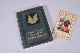 La merveilleuse histoire de l'armée française. Œuvre collective d'historiens militaires, gros in-4.