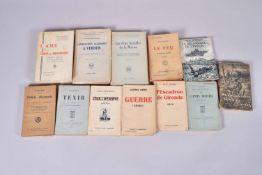 11 volumes. Les deux batailles de la Marne, les combattants allemands à Verdun, l'aveu de la défaite