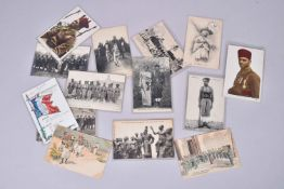 France. Troupes coloniales. Et armée d'Afrique. Tirailleurs sénégalais et malgaches, spahis…(14 cart
