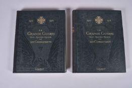 La Grande Guerre par les combattants.  Publié chez Christian-Frogé. 2 fort volumes in-4. Importants
