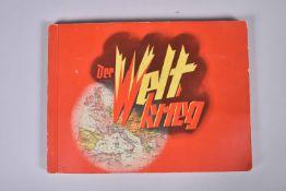« Der welt krieg. » Album de vignettes en couleurs représentant la évènements de la Grande Guerre en