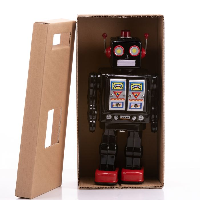 Battery Operated Tinplate Space Robot - Image 2 of 7