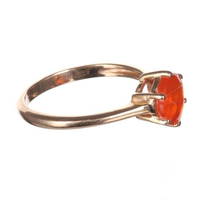 10K Gold Sunset Opal Ring - Image 6 of 6