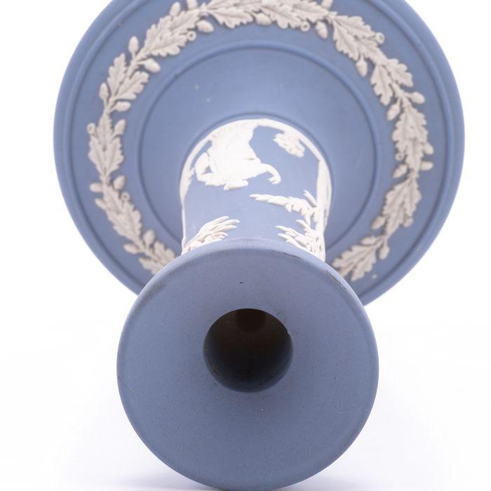 Wedgwood Jasperware Candle Holder - Image 2 of 6