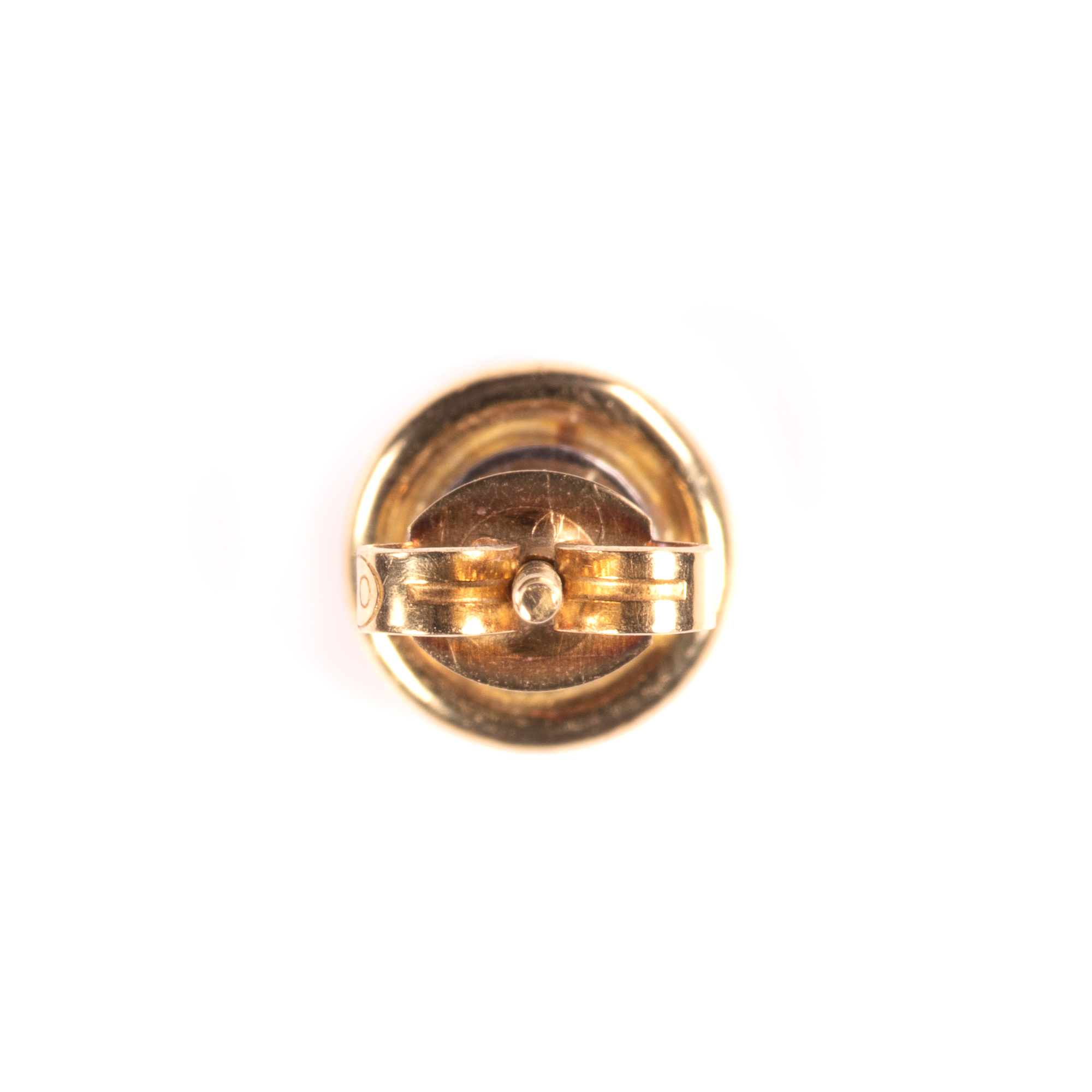 18ct Gold 1ct Diamond VVS1 Earrings - Image 6 of 7