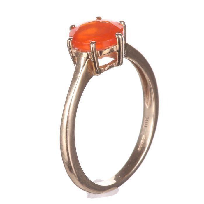 10K Gold Sunset Opal Ring