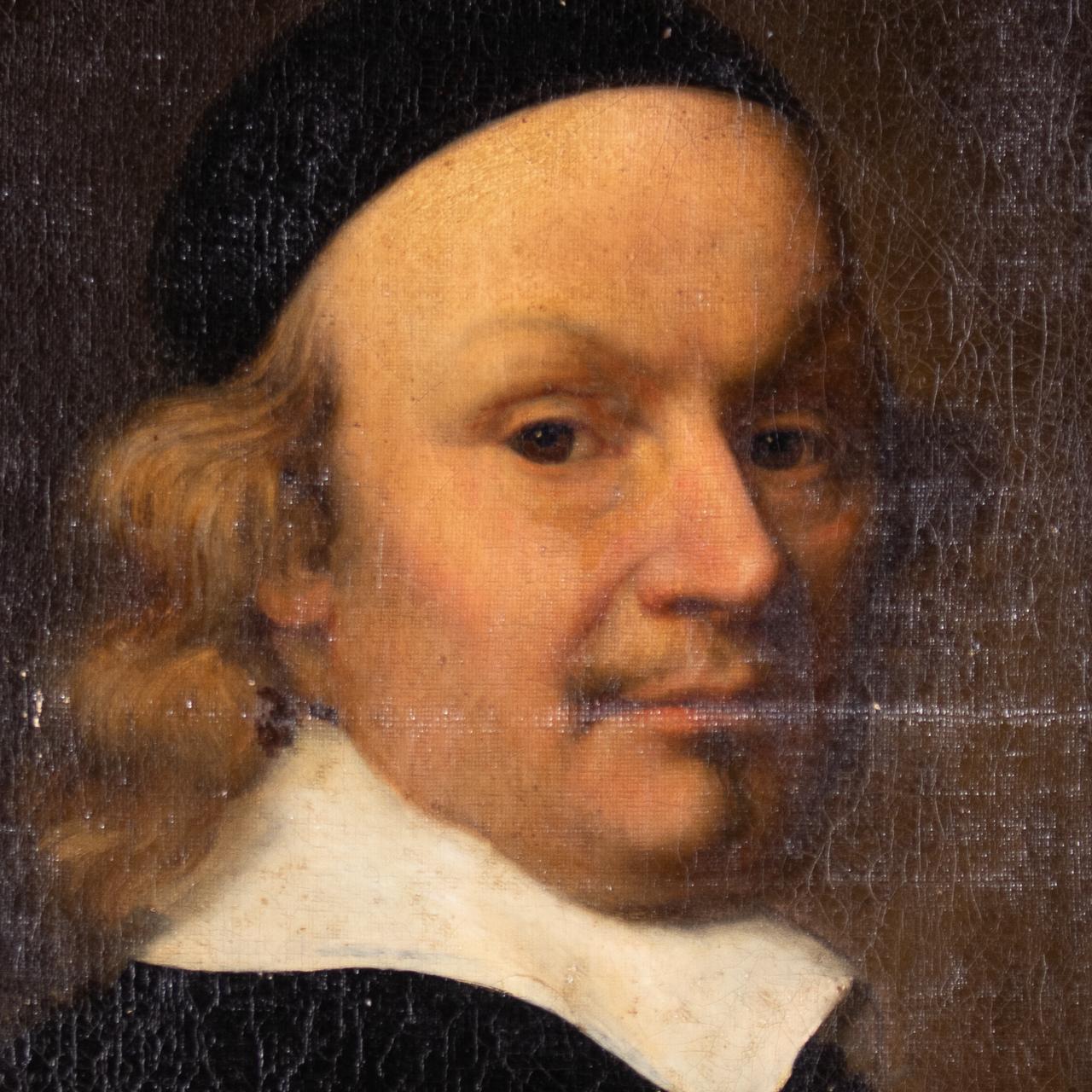 XVII Old Master Portrait - Cardinal - Image 11 of 12