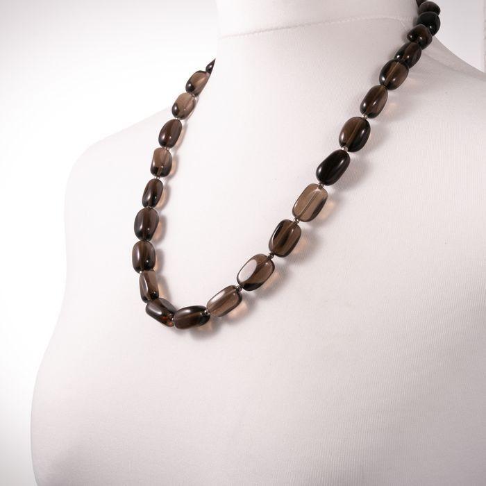Smoky Quartz Necklace - Image 5 of 5
