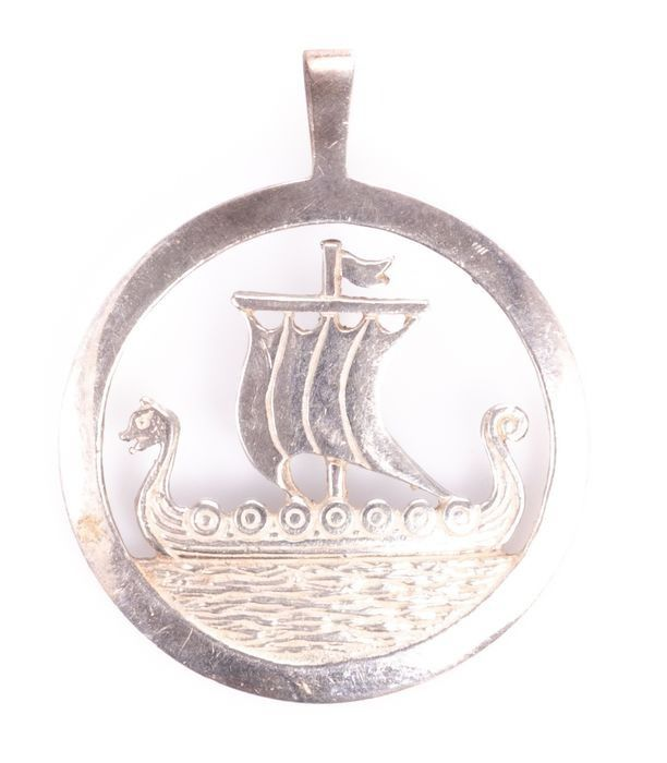 Viking Silver Pendant