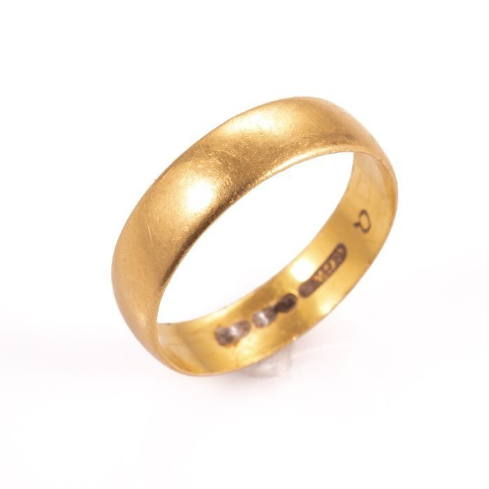 22ct Gold Wedding Band Ring