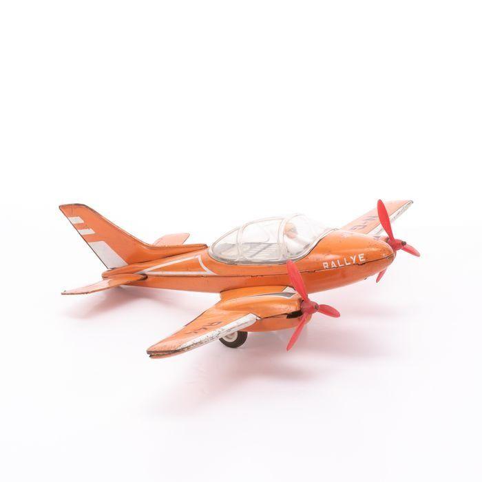 Joustra Tinplate Rallye Friction Toy Plane - Image 4 of 6