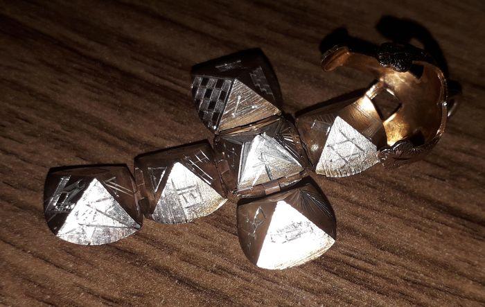 Gilt Masonic Orb Pendant - Image 7 of 7