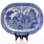 Chinese Export Dish 19thC